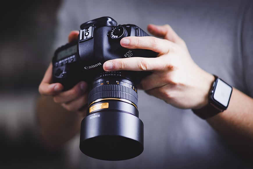 Sell Used Camera Equipment